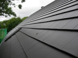 Neue Dachziegel - hier passend nach dem verlegen